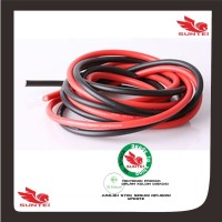 14 AWG Silicone Wire Cable 1 Cm Black - Kabel Hitam