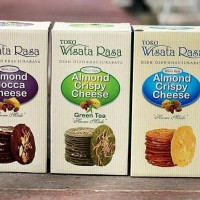 Almond Crispy Cheese Wisata Rasa khas Surabaya oleh jajan camilan kue