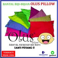Olus Pillow Baby - Bantal Olus Kacang Hijau Anti Kepala Peyang Bayi