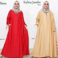 baju dress gamis maxy jumbo kalina 5L