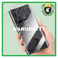 FLIP LUXURY CASE SAMSUNG A70 / A70S HARD MIRROR COVER STAND CASING