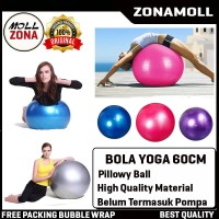 Bola Yoga 60CM Gym Ball Balon Fitness Olahraga Senam Ibu Hamil