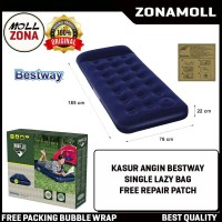 Bestway Kasur Angin LAZY BAG SINGLE 67000 / Matras Karet [185cm x76cm]