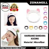 Hair Band Korea KUPING / Bandana Lucu / Bando Cuci Muka / HeadBand