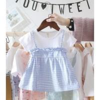 NEW ARRIVAL BABYFIT BR1 BAJU DRESS APRONE MINI DRESS BAJU ANAK