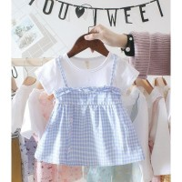 NEW PRODUK BABYFIT BR1 BAJU DRESS APRONE MINI DRESS BAJU ANAK