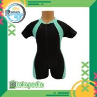 Baju Renang Deving Anak ( RKA 03 ) - Biru Toska