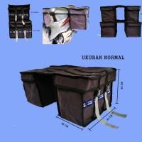 Tas motor bahan kanvas truk untuk laundry / ekpedisi / salesman dll