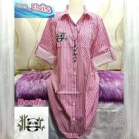 Kemeja / Shirt / Wanita / Fila / Pink Mawarmerah4865