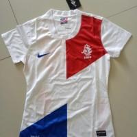 Baju Bola Olahraga Jersey wanita cewek Belanda KF