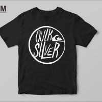 Kaos Baju T Shirt Distro Quicksilver Surf O7642