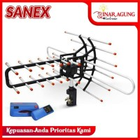 Sanex Antena Outdoor TV With Booster Puls Remote WA-850TG