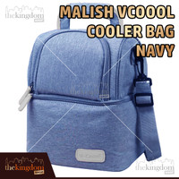 Malish V-coool Cooler Bag Grey Tas Penyimpan Asi Hot / Cold + Ice Gel