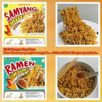 Samyang + Ramen + Vegetarian + Cheese + Tomyum