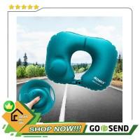 Romix Bantal Leher Travel Inflatable Neck Pillow - RH34