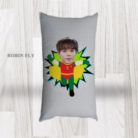 Bantal Sofa / Cushion foto karikatur - Robin Fly Long