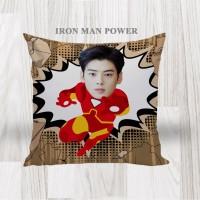 Bantal Sofa / Cushion foto karikatur - Ironman Power