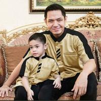 Couple Markos / Couple Ayah dan Anak / Fashion Baju Muslim / Koko Pria
