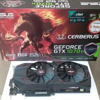 VGA Card PCI-E ASUS GeForce GTX 1070Ti CERBERUS ADVANCED 8GB GDDR5 256