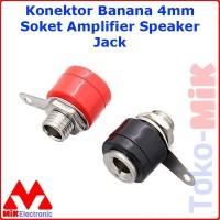 Konektor Soket 4mm Banana Socket Amplifier Speaker Plug Jack