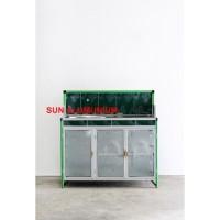 Best Seller Meja Cuci Piring Keramik + Alumunium Super Termurah
