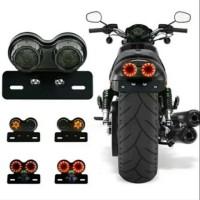 HSS Lampu Stoplamp led motor custom variasi untuk rx king, harley,