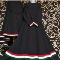 GRAGE SHOP _ Gamis Set syari fre Cadar Palestina baju muslim jilbab