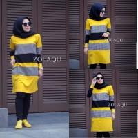 Baju tunik terbaru Zolaqu Tunik Baju atasan wanita Kaos tunik wanita