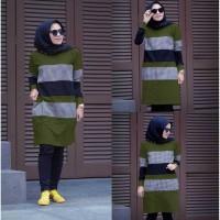 Baju Atasan Wanita Terbaru Inna 2 Top Tunik Muslim Terbaru