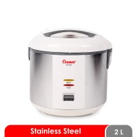 Cosmos Rice Cooker 2 Liter CRJ-9301/CRJ-9303 (Panci Stainless Steel)