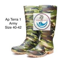 Sepatu BOOT CAMO # Sepatu Bot Corak Army # Sepatu Militer Boot