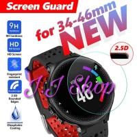 Tempered Glass Custom Anti Gores Kaca Smartwatch Jam Tangan Biasa Jam