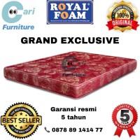 Kasur Busa Royal Foam Grand Exclusive 160x200 Tebal 18cm Garansi 5th