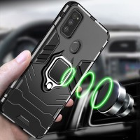 SAMSUNG GALAXY M30S M307 TRANSFORMER I-RING MAGNETIC HARD CASE COVER