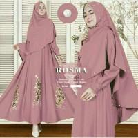 Gamis Bergo Jilbab Baju Syari HG009 Baju Wanita Muslim Dress Muslim