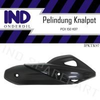 Pelindung-Cover-Tameng-Tutup-Penutup Knalpot Honda PCX 150 New K97