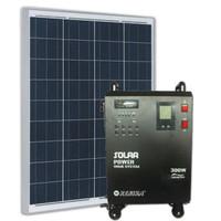 Paket Generator Pembangkit Listrik Tenaga Matahari Surya PLTS 500W