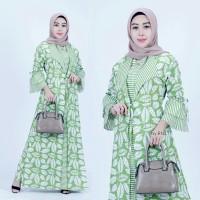 Gamis - Gamis Brokat - Gamis Batik - Baju Wanita - Gamis Muslim , S