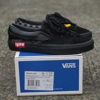 Sepatu Vans Slip On Cap Lx All Black Premium BNIB Quality