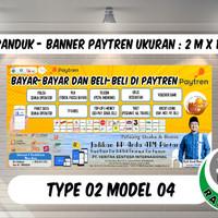 SPANDUK BANNER   PAYTREN UPDATE UKURAN 2M X 1M