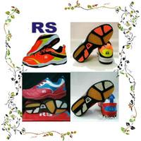 Best Product Rk 1114 Sepatu Badminton Rs Sirkuit 570 Orange Dan