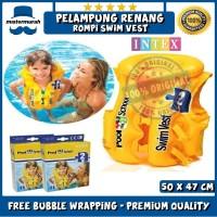 Pelampung Rompi Renang Anak / Baju Berenang - INTEX SWIM VEST 58660