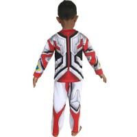Baju Anak Kostum Topeng Superhero Ultraman Go - Size 14