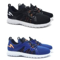 Jual Sepatu Lari Running Specs Prelude - Black & Navy Original Murah