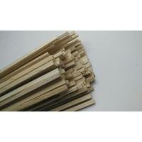 TERBARU- Kayu Balsa Stick 3mm x 3mm Panjang 1 Meter -TERLARIS!!!