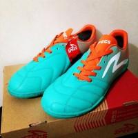 Sepatu Futsal Specs Equinox IN Comfrey Green Orange Original Promo