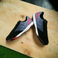 Sepatu Futsal Ortuseight Jogosala Avalanche Black Grey Rhod Red Camo