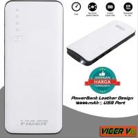 ORIGINAL Power Bank VIGER V18 18000mAh 3 USB Port Wallet Fashion