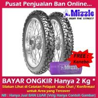 Paket Mizzle M52 2.50-17 & 3.00-17 Ban Motor Tubetype Trail & GRATIS