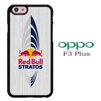 Casing OPPO F3 PLUS Red Bull Stratos E1523